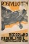 Postvluchten Nederland Nederl. Indië